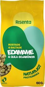 Bild på Risenta Edamame & Gula Sojabönor 60 g