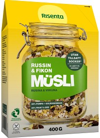 Bild på Risenta Glutenfri Müsli Russin & Fikon 400 g