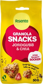 Bild på Risenta Granola Snacks Jordgubb & Chia 50 g