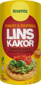Bild på Risenta Linskakor Tomat & Paprika 122 g