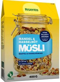 Bild på Risenta Müsli Mandel & Hasselnöt 400 g