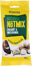 Bild på Risenta Naturell Nötmix Paranöt & Macadamia 50 g