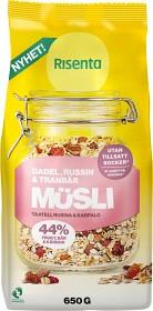 Bild på Risenta Russin, Dadel & Tranbär Müsli 650 g