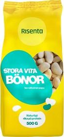 Bild på Risenta Stora Vita Bönor 500 g