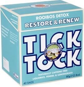 Bild på Tick Tock Rooibos Detox 40 tepåsar