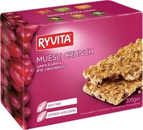 Bild på Ryvita Knäckebröd Muesli Crunch 200 g