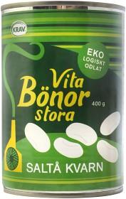 Bild på Saltå Kvarn Stora vita bönor burk 400 g