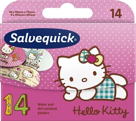 Bild på Salvequick Hello Kitty 14 st