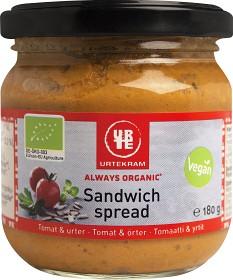Bild på Urtekram Sandwich Spread Tomat & Örter 180 g