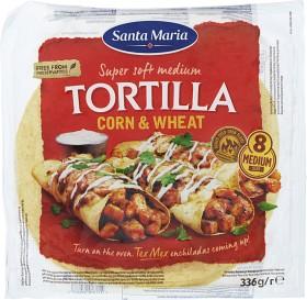 Bild på Santa Maria Corn & Wheat Tortilla 336 g