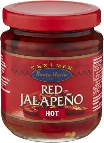 Bild på Santa Maria Red Jalapeño Hot 215 g