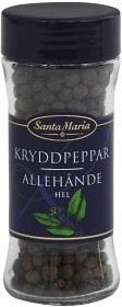 Bild på Santa Maria Kryddpeppar Hel 25 g
