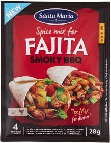 Bild på Santa Maria Fajita Spice Mix Smoky BBQ 28 g