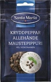 Bild på Santa Maria Kryddpeppar Hel 14 g