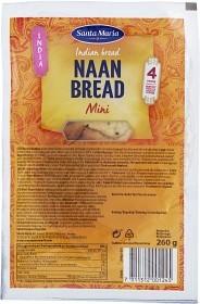 Bild på Santa Maria Naan Bread Mini 260 g