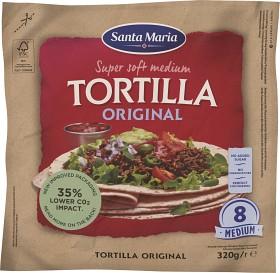 Bild på Santa Maria Original Soft Tortilla Medium 320 g