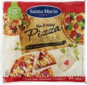 Bild på Santa Maria Pizza Tortilla 280 g