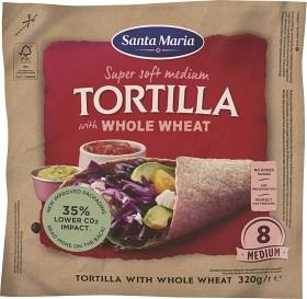 Bild på Santa Maria Tortilla Whole Wheat Medium 320 g