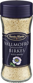 Bild på Santa Maria Vallmofrö Vitt 43 g