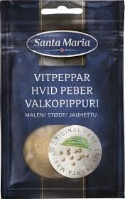 Bild på Santa Maria Vitpeppar Malen 22 g