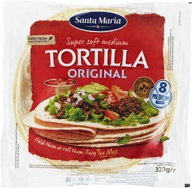 Bild på Santa Maria Original Soft Tortilla 320 g