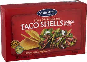 Bild på Santa Maria Taco Shells 225 g