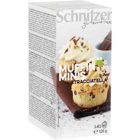 Bild på Schnitzer Muffins Minis Stracciatella 4x30g