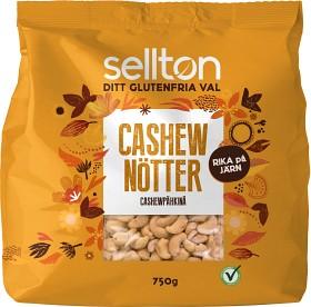 Bild på Sellton Cashewnötter 750 g