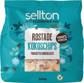 Bild på Sellton Rostade Kokoschips 500 g