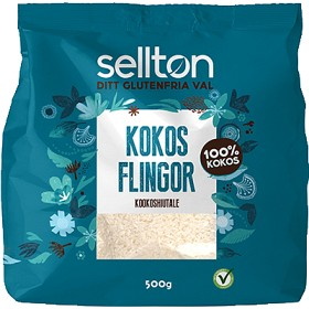 Bild på Sellton Kokosflingor 500 g