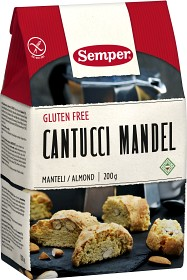 Bild på Semper Cantucci Mandel Glutenfria 200 g