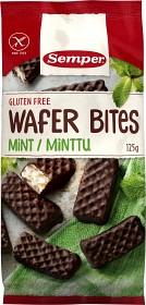 Bild på Semper Wafer Bites Mint Glutenfria 125 g