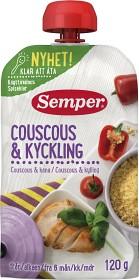 Bild på Semper Ätklar Couscous & Kyckling 6M 120 g