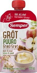 Bild på Semper Ätklar Gröt Äpple & Kanel 6M 120 g