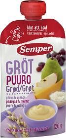 Bild på Semper Ätklar Gröt med Päron & Mango 6M 120 g
