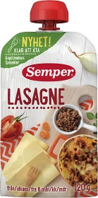 Bild på Semper Ätklar Lasagne 6M 120 g