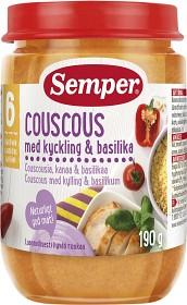 Bild på Semper Couscous med Kyckling & Basilika 6M 190 g