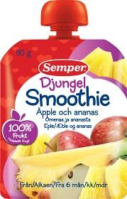 Bild på Semper Djungel Smoothie Äpple och Ananas 6M 90 g