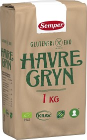 Bild på Semper glutenfria havregryn 1 kg