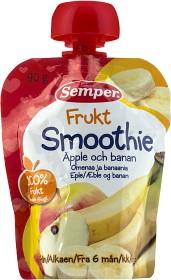 Bild på Semper Frukt Smoothie Äpple och Banan 6M 90 g
