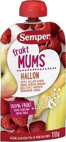 Bild på Semper Fruktmums Hallon 6M 110 g