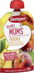 Bild på Semper Fruktmums Persika 6M 110 g