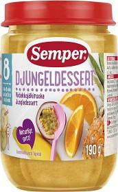Bild på Semper Fruktpuré Djungeldessert 8M 190 g