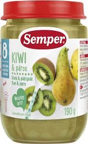 Bild på Semper Fruktpuré Kiwi & Päron 8M 190 g