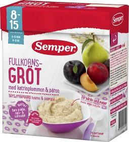 Bild på Semper Fullkornsgröt med Katrinplommon & Päron 8-15M 470 g