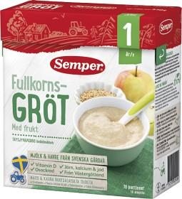 Bild på Semper Fullkornsgröt med Frukt 12M 530 g