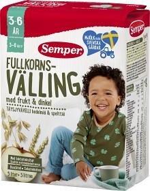 Bild på Semper Fullkornsvälling med Frukt & Dinkel 3-6år 5 L