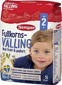 Bild på Semper Fullkornsvälling med Frukt & Yoghurt 24M 5 L