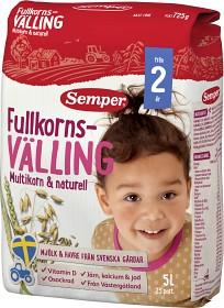 Bild på Semper Fullkornsvälling Multikorn & Naturell 24M 5 L