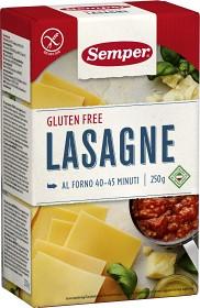 Bild på Semper glutenfri pasta lasagne 250 g